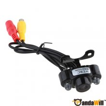 2 LED Waterproof Color CMOS/CCD Car Rear View Reverse Backup Camera E400 out let