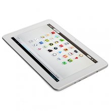 Ampe A10 Quad Core 3G GPS Tablet PC 10.1 Inch MSM8625Q Android 4.1 IPS Screen 1G 4G Bluetooth White