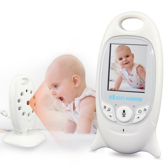 Wireless Baby Monitor 2 inch Baba Electronic Babysitter Radio Video Nanny Camera Night Vision Temperature Monitoring