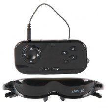 Digital Video Glasses - Micro LCOS Screen - Unique Non-Spherical Optical System Standards