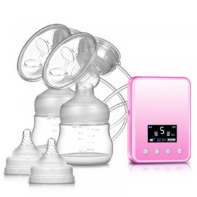 Electric Breast Pumps USB Silicone BPA Free Breast Pump Powerful Nipple Suction Maternal Electric Breast Pumps Milk Breast Pump