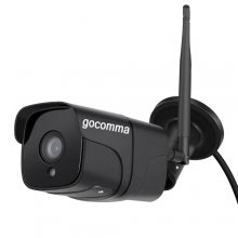 gocomma CA - R21A - R Wireless 1080P HD Smart WiFi IP Camera - Black