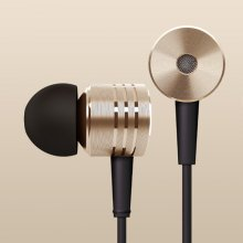 Original XIAOMI Brand New Version In-ear Earphone 3.5mm Stereo Earphone with Mic Golden