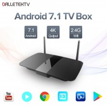 Android 8.1 Leadcool Q1504 TV BOX 1GB 8GB RK3229 Cortex-A7 Quad-Core Smart Receivers