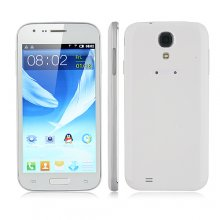 I9500 Smartphone Android 2.3 OS SC6820 1.0GHz 5.0 Inch Camera- White
