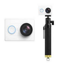Xiaomi Yi Action Camera WiFi 16MP 1080P 155° Wide Lens Sports DV White Travel Edition