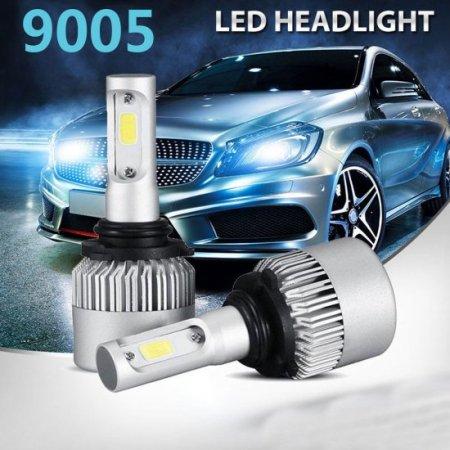 9005 LED Headlight Bulbs, 6500K 8000 Lumens Extremely Super