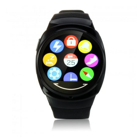 UWATCH UO 1.3 Inch Bluetooth 4.0 Waterproof Support Remote Control for Smartphone Black