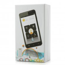 JIAKE F1W Smartphone Android 4.2 MTK6572W 5.0 Inch 3G GPS White