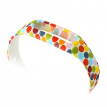 Colorful Dot Pattern Replacement Wrist Strap Wearable Wrist Band for XIAOMI MI Band