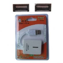Hi-speed+ USB 2.0 4- port HUB(with CE and FCC certicate)