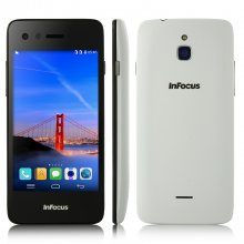 Foxconn Infocus M2 Smartphone 4G HD Gorilla Glass Android 4.4 8.0MP Front Camera White