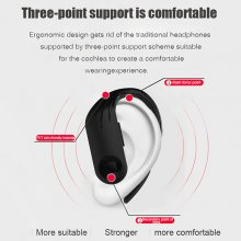 Bluetooth 5.0 Earphones Power Display Headsets Double Calls Wireless Headphone Sports Waterproof Earbuds With Charging Box