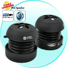 Double Hamburger Mini Speaker - High Fidelity Edition