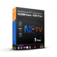 1 Year NETV IPTV FULL Nordic CHANNELS SUBSCRIPTION IPTV Finland Denmark Belgium Dutch Portugal Spain Sweden Norway For Android M3u