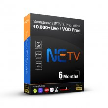 6 MONTHS NETV IPTV FULL EUROPE CHANNELS Subscription French IPTV Arabic Belgium Dutch Portugal Spain Germany Sweden Norway For Android M3u
