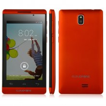 CloudFone Excite 401TV Smartphone Android 4.2 MTK6572W 4.0 Inch 3G GPS Red