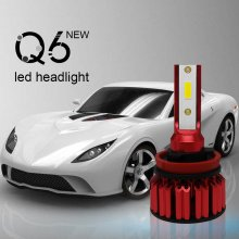 H11(H8/H9) 10000LM LED Headlight Bulbs Conversion Kit.Low Beam Headlamp, Fog Driving Light, HID or Halogen HeadLight Replacement,6000K Xenon White.1 Pair- 2 Year Warranty