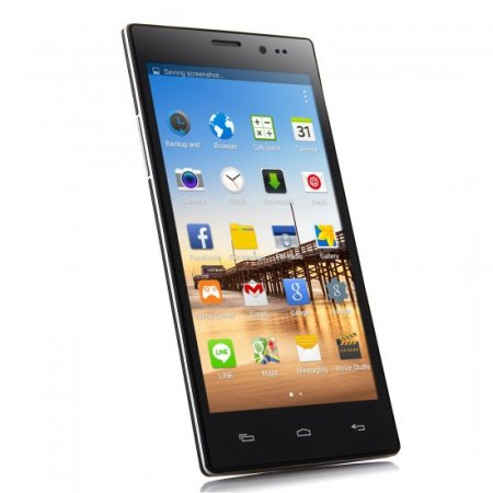 Tengda N907 Smartphone Android 4.4 MTK6572W 5.5 Inch QHD Screen Smart Wake Black