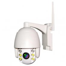DL - MDF2020RB05 Wireless WiFi 1080P PTZ Dome IP Camera - White