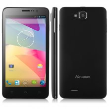 Used Newman K1S Smartphone MTK6592 2GB 16GB 5.0 Inch Android 4.2 13MP Camera- Black