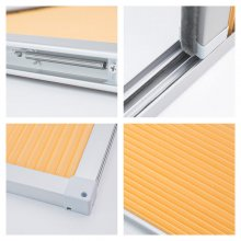 OEM Aluminum Alloy car window sunshades Honeycomb curtains With track Shade and Ventilation for RVs Buses Train Full Shade