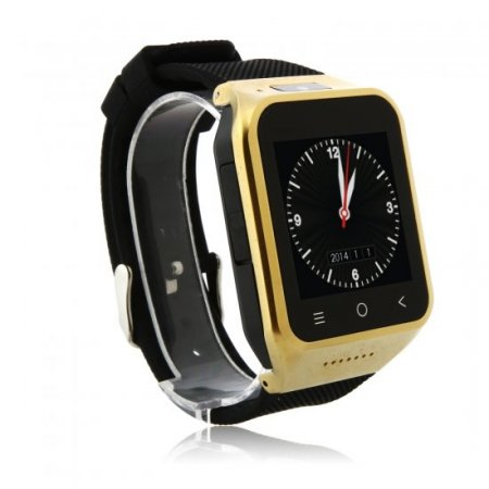 ZGPAX S8 Watch Phone Android 4.4 MTK6572W Dual Core 1.54 Inch 3G 512MB 8GB GPS Golden