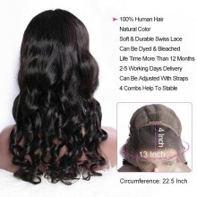 150 Density 13x4 Lace Front Wigs For Women Brazilian Loose Wave Remy Human Hair Wigs For Sale