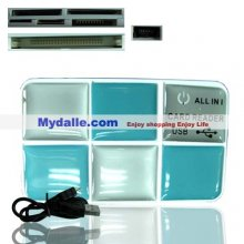 All in oneHi-speed+ USB 2.0 multislot cardreader /writer(with CE and FCC certicate)