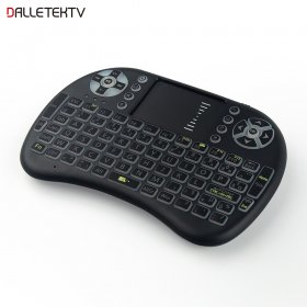 I8 mini Wireless 2.4G gaming keyboard backlit French With TouchPad Mouse for Tablet Mini PC TVBOX