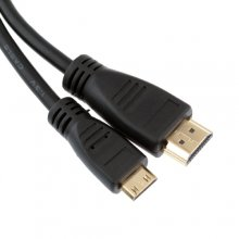 1.5M 1080P HDMI V1.3 Male to MINI HDMI Male Cable for Tablet HDTV