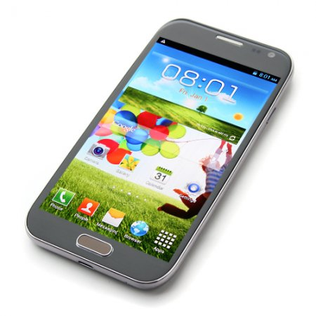 i9500 Smartphone Android 4.2 MTK6589 Quad Core HD Screen 1G RAM 5.0 Inch 13.0MP Camera
