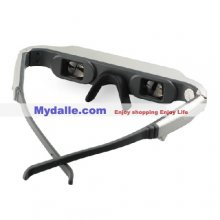 Digital Video Glasses - Dual Channel Stereo - 4:3 Video Aspect Ratio - 26-degree Diagonal View Angle - 240k Pixel Video Eyewear