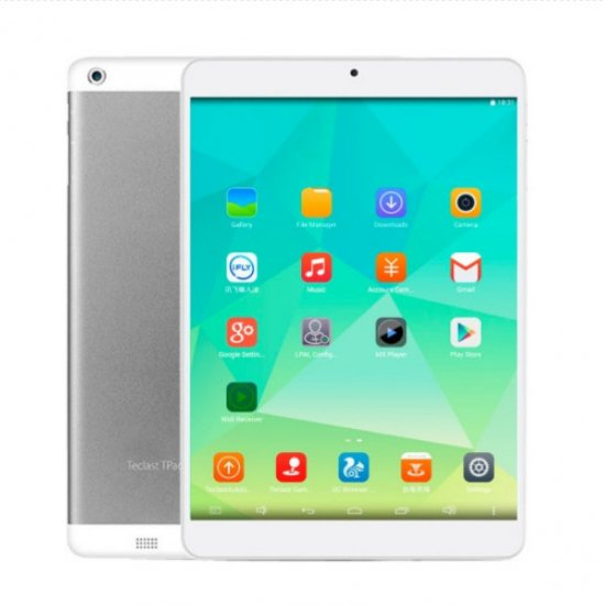 "Teclast P98 Octa Core Tablet PC 9.7"" MT8151 Android 4.4 GPS OTG WIFI 1GB 16GB Silver"