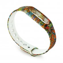 New Colorful Pattern Replacement Wrist Strap Wearable Wrist Band for XIAOMI MI Band