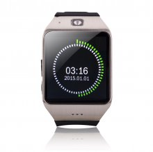 Uhappy UW1 GSM Smart Watch Camera Bluetooth NFC TF Card Wristwatch Sliver