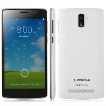 LANDVO L200 Smartphone Android 4.4 MTK6582 5.0 Inch QHD Screen 3G Smart Wake Up White