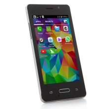 Tengda Q6 Smartphone Android 4.4 MTK6572 3G 4.0 Inch - Black