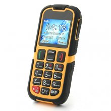 W28 IP67 Phone with Russian & English Nicedial Dual SIM Card Bluetooth Camera Torch SOS