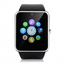 VOYO Vwatch-two Bluetooth Watch Phone 1.54 Inch MTK6260A NFC Camera FM Black