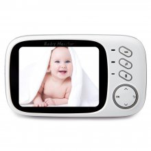 3.2 inch Wireless Baby Audio Monitor With Camera Audio Video Baby Camera Portable Baby Temperature Monitor Baby Toy For Sleeping