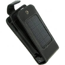 Solar Charger Case - Compatible with all iPhones Including iPhone 3G - Card Wallet