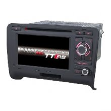 6.5 inch Car autoradio gps navigation system player Car dvd for AUDI TT 2002-2010 bus support 3G