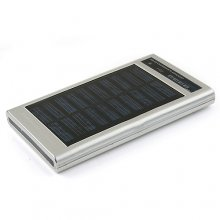 2600mAh Solar Charger & Flashlight Power Bank for Mobile Phone MP3 MP4 Digital Products