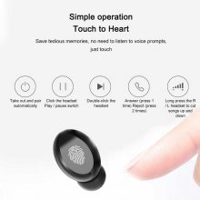 7D Stereo Music Headphone Bluetooth 5.0 TWS Earphone Noise Cancelling Mini Earbuds Touch Control Headsets Waterproof Earphones