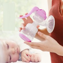 Breast Pump 150ml PP Manual Maternal And Infant Supplies Milking Machine For Pregnant Woman Humalactor Manual Breast Pump