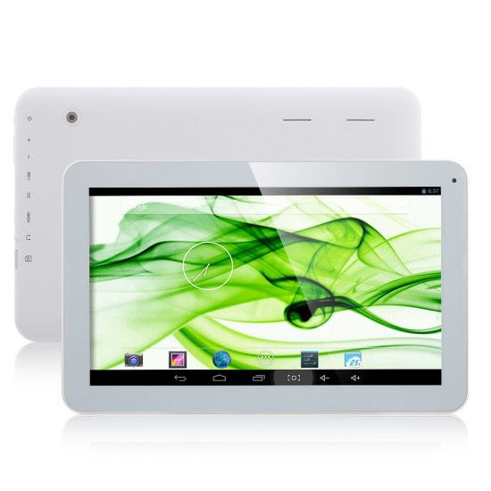 Used GDIPPO P706 Tablet PC ATM7021 Dual Core 10.1 Inch Android 4.2 8GB HDMI White