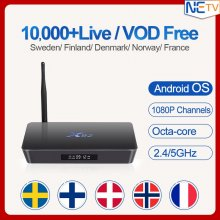 IPTV Octa Core Android Arabic BOX X92 Sweden Poland Netherlands IPTV Channels 2/16GB 3/32GB TV Box WIFI H.265 Media Player