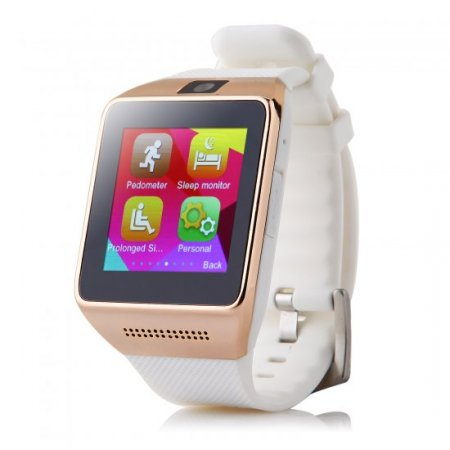 Atongm W008 Smart Watch Phone Bluetooth Watch 1.54 Inch Pedometer Anti-lost White