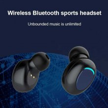 Hands Free Touch Key Earphone Bluetooth Wireless Earbuds Auto Pairing HiFi Call Headset Sport Music Headphones With Charger Case